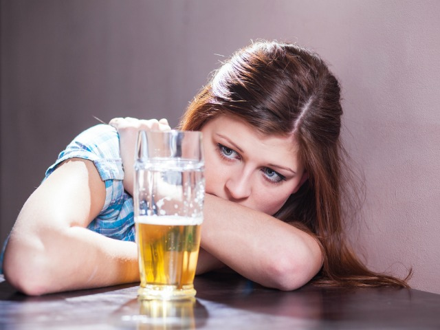 Separating depression from alcoholism
