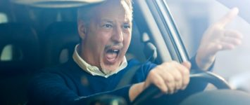 Navigating through road rage