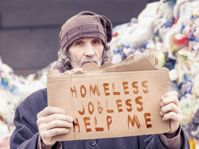 Homelessness rapidly ages