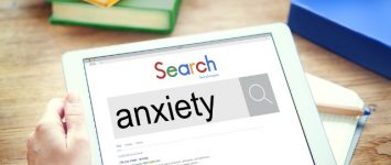 Google search shows anxiety to be highest in New England