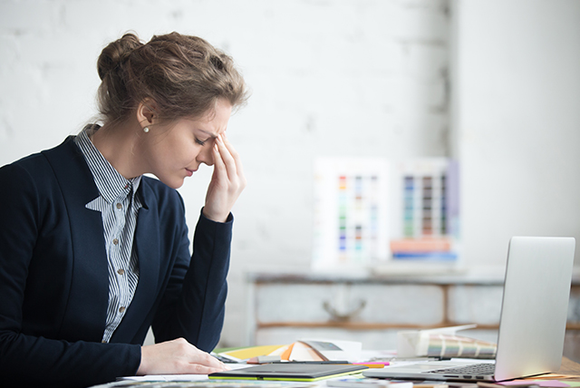 Stress Awareness Month: Beware! Long work hours at desk may give stress and anxiety