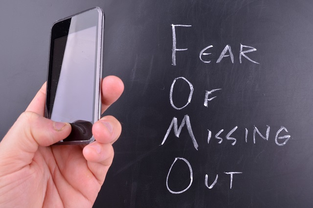Is 'fear of missing out' another form of social anxiety?